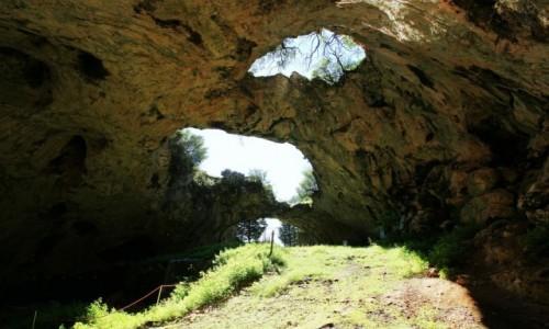 Zdjęcie CHORWACJA / Wyspa Korčula / Vela Luka / Vela spilja, czyli wielka jaskinia