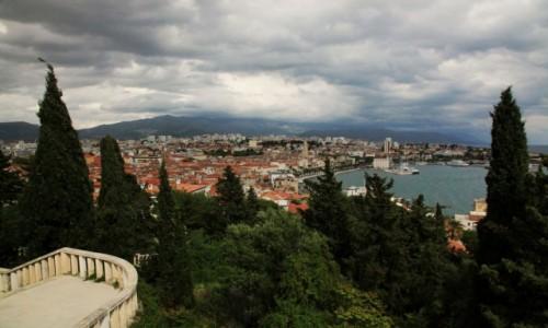 Zdjęcie CHORWACJA / Split / Wzgórze Marjan / Przed burzą