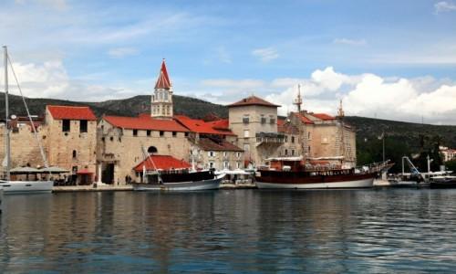 Zdjęcie CHORWACJA / Środkowa Dalmacja / Widok z wyspy / Trogir