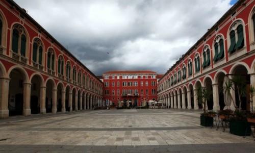 Zdjęcie CHORWACJA / Środkowa Dalmacja / Split / Prokurative, czyli Plac Republiki