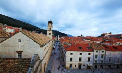CHORWACJA / Po�udniowa Dalmacja / Dubrovnik / Stradun