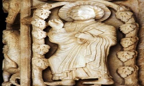 Zdjecie CHORWACJA / Po�udniowa Dalmacja / Trogir, katedra �w. Wawrzy�ca  / Aposto�, fragme