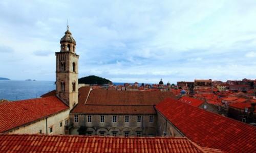Zdjecie CHORWACJA / Po�udniowa Dalmacja / Dubrovnik / Dachy Dobrownik