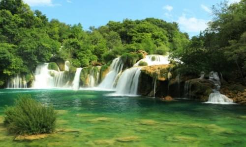 Zdjecie CHORWACJA / �rodkowa Dalmacja / Wodospady Krka / wodospady...