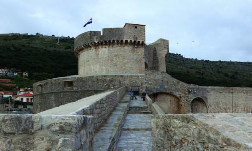 Zdjecie CHORWACJA / Po�udniowa Dalmacja / Dubrovnik / Okr�g�a twierdz