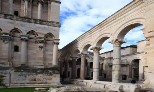 Zdjęcie CHORWACJA / Split / Pałac Dioklecjana / Kolumnady