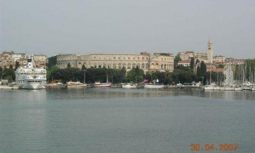 Zdjecie CHORWACJA / Istria / Pula / Stare jak Stary Rzym