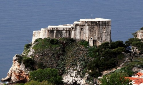 Zdjecie CHORWACJA / Południowa Dalmacja / Dubrovnik / Twierdza Lovrijenac
