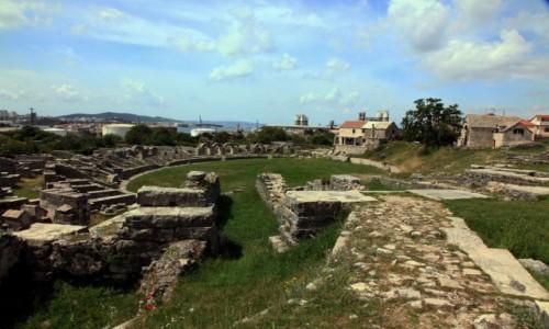 Zdjęcie CHORWACJA / Split / Solin / Ruiny amfiteatru rzymskiego Salonae