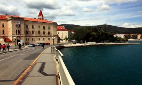 Zdjęcie CHORWACJA / Środkowa Dalmacja / Trogir / Widok z mostu