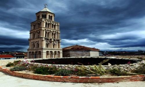 Zdjęcie CHORWACJA / Split / Pałac Dioklecjana / Wieża