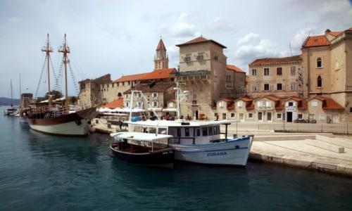 Zdjęcie CHORWACJA / Środkowa Dalmacja / Trogir / Przystań