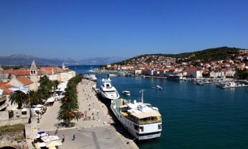Zdjęcie CHORWACJA / Środkowa Dalmacja / Trogir / Promenada