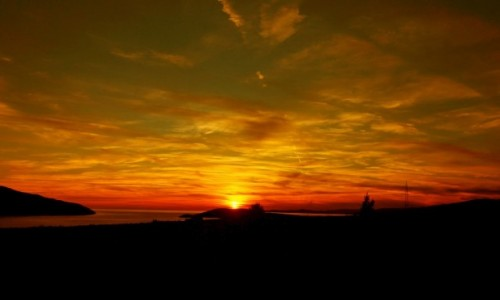 Zdjęcie CHORWACJA / Hvar / Stari Grad / Gdy dzień się kończy,a noc zaczyna...