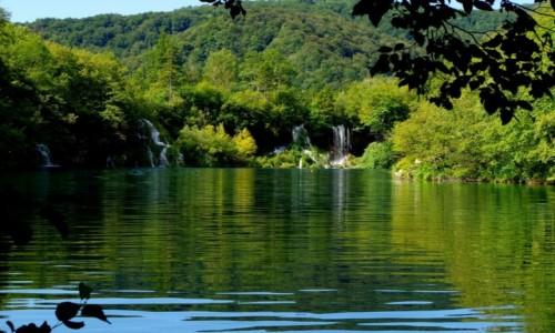 Zdjęcie CHORWACJA / - / Plitwice  / plitwickie jeziora