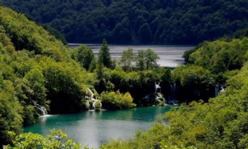 CHORWACJA / - / Plitwice  / plitwickie jeziora