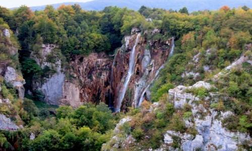 CHORWACJA / �rodkowa Chorwacja / Park Narodowy Jezior Plitwickich / jeden dzie� w Plitwicach
