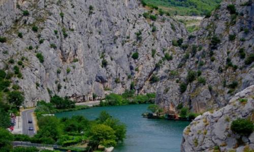 Zdjęcie CHORWACJA / - / Omis / Kanion rzeki Cetina