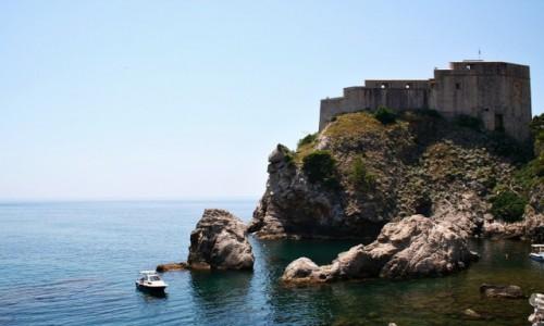 Zdjęcie CHORWACJA / Dalmacja / Dubrovnik / Twierdza w Dubrowniku
