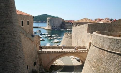 Zdjęcie CHORWACJA / Dalmacja / Dubrovnik / Mury Dubrownika