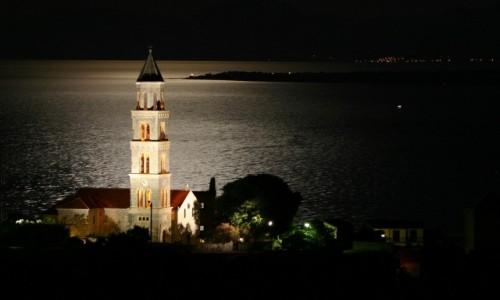 Zdjęcie CHORWACJA / Dalmacja / Igrane / Księżyc i Igrane