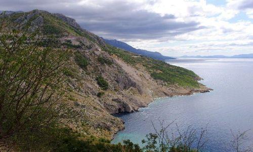Zdjecie CHORWACJA / Dalmacja / Wyspa Mljet / G�ry i woda c.d