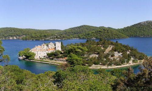 Zdjecie CHORWACJA / Dalmacja / Wyspa Mljet / Wyspa na wyspie