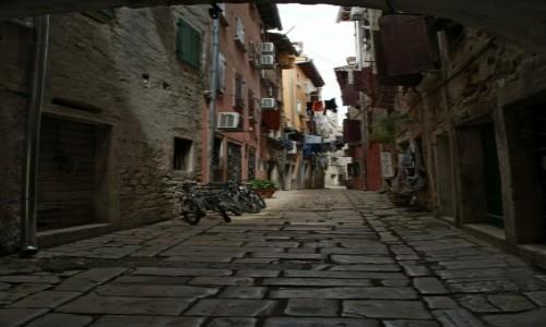 Zdjecie CHORWACJA / Istria / Rovinj / uliczki Rovinj