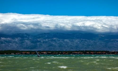 Zdjęcie CHORWACJA / Dalmacja / Nin / Z wiatrem