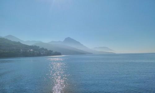 Zdjęcie CHORWACJA / dalmacja / dalmacja / Widok na lad z wyspy hvar