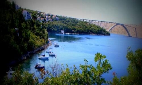 Zdjecie CHORWACJA / - / Uvala Slana / Krcki most  (cz