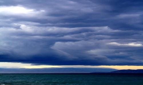 Zdjecie CHORWACJA / - / Crikvenica / niebo i morze