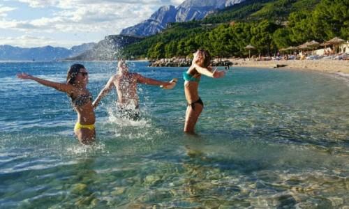 Zdjecie CHORWACJA / Makarska / Adriatyk / Dla takich chwi