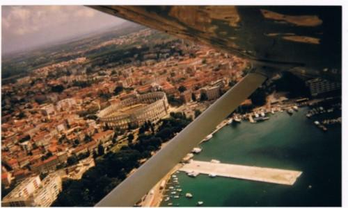 Zdjecie CHORWACJA / - / Półwysep Istria / Pula z lotu pta