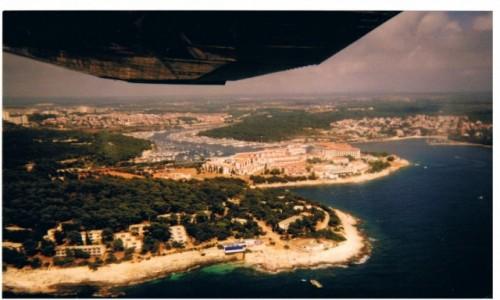 Zdjecie CHORWACJA / Półwysep Istria / jak wyżej / Pólwysep Istria z lotu ptaka
