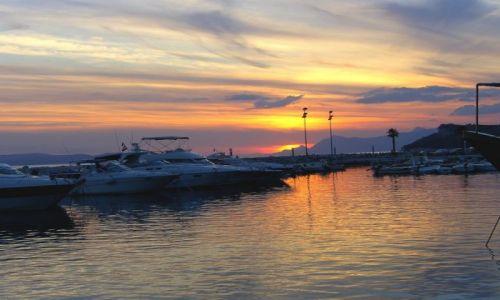 Zdjecie CHORWACJA / Dalmacja / Tucepi / port