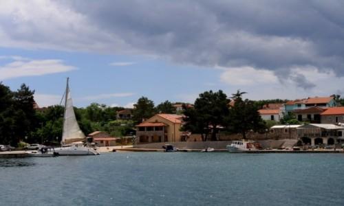 Zdjęcie CHORWACJA / Krk / Porat / zatoczka