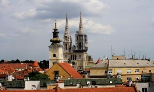 Zdjecie CHORWACJA / - / Zagrzeb / Katedra Wniebow