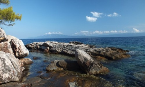 Zdjecie CHORWACJA / wyspa Hwar / Gdinj / Wybrzeże Chorwackie