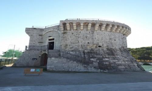 CHORWACJA / Dalmacja / Trogir / Wieża św. Marka