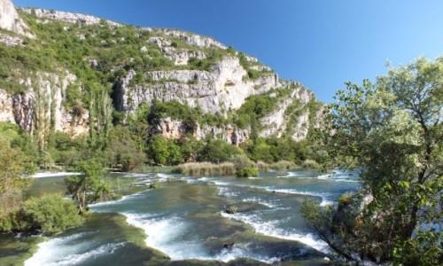 Zdjecie CHORWACJA / Chorwacja / Park Narodowy Krka / Rzeka Krka