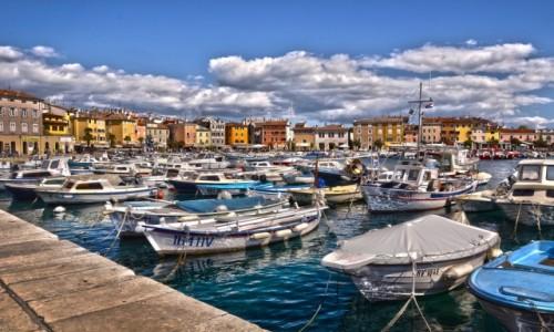 Zdjecie CHORWACJA / Istria / Rovinj / Port