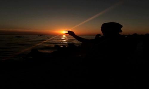 Zdjecie CHORWACJA / Zadar / Nad morzem / Uchwycić słońce :)