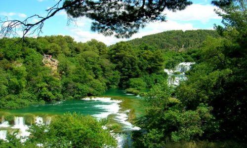 Zdjecie CHORWACJA / Dalmacja / park Krka / woda
