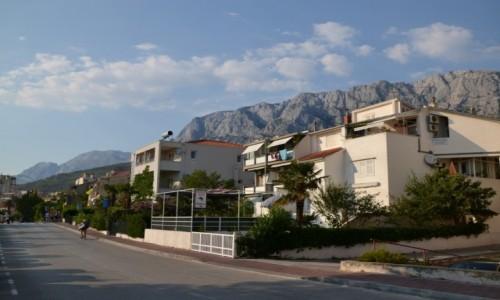 Zdjęcie CHORWACJA / Dalmacja / Makarska / Ulica
