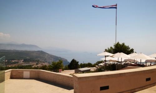 Zdjęcie CHORWACJA / Południowa Dalmacja / Wzgórze Srd / Widok z Srd