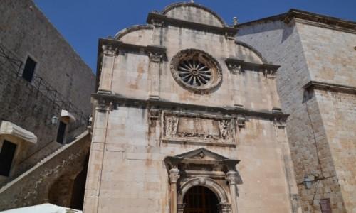 Zdjęcie CHORWACJA / Południowa Dalmacja / Dubrownik / Kościół Zbawiciela