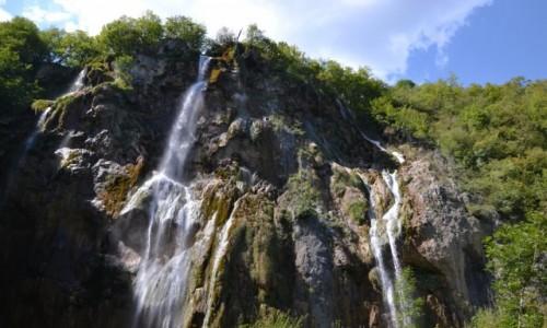 Zdjęcie CHORWACJA / Żupania Licko-Senjska i Karlovacka / Park Narodowy Jezior Plitwickich / Wielki Slap