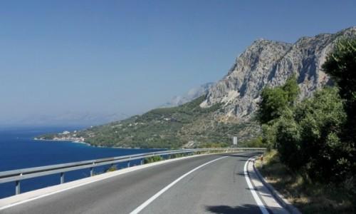 Zdjecie CHORWACJA / Dalmacja / Makarska / Magistrala Adriatycka