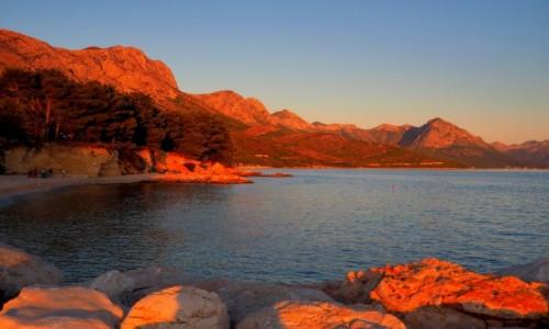 Zdjecie CHORWACJA / Riviera Makarska  / miejsce, do którego lubię wracać:) / miedziane góry...